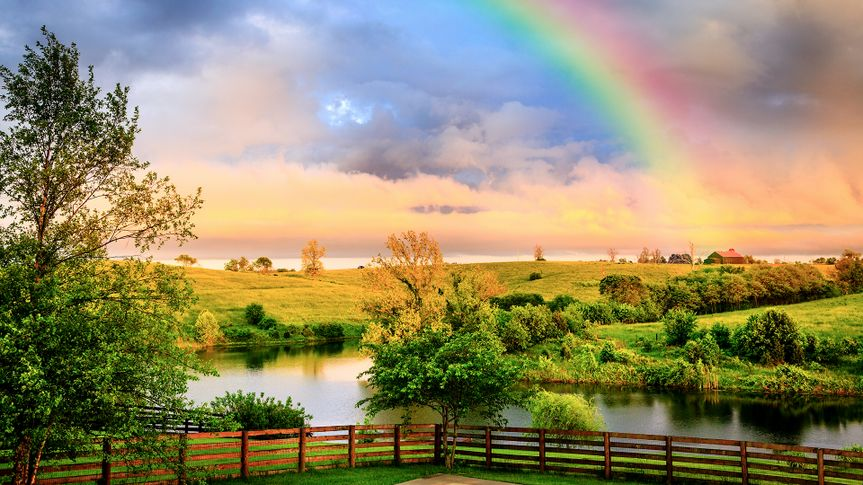 Countryside after storm - Image.