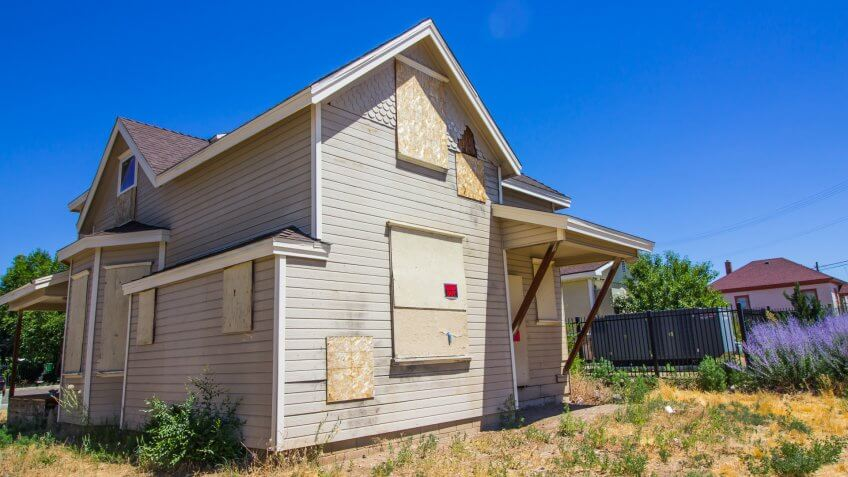 foreclosure on a home