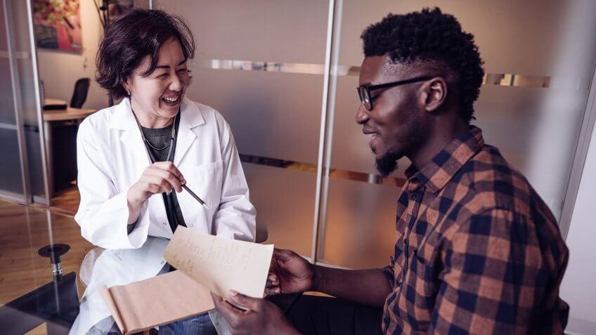 Doctors consultation.