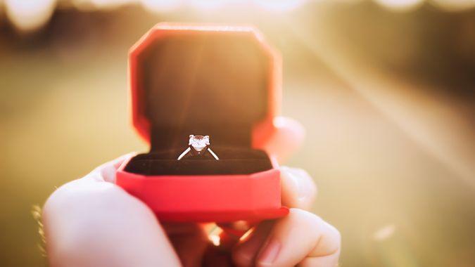 wedding engagement ring