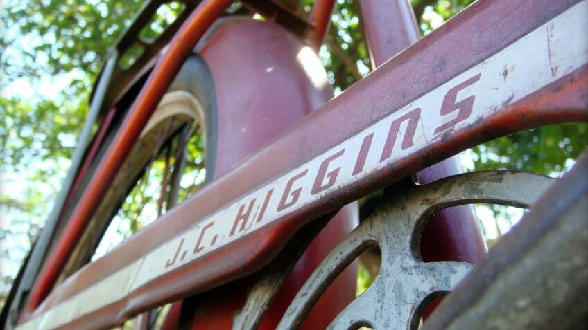 J.C. Higgins bicycle