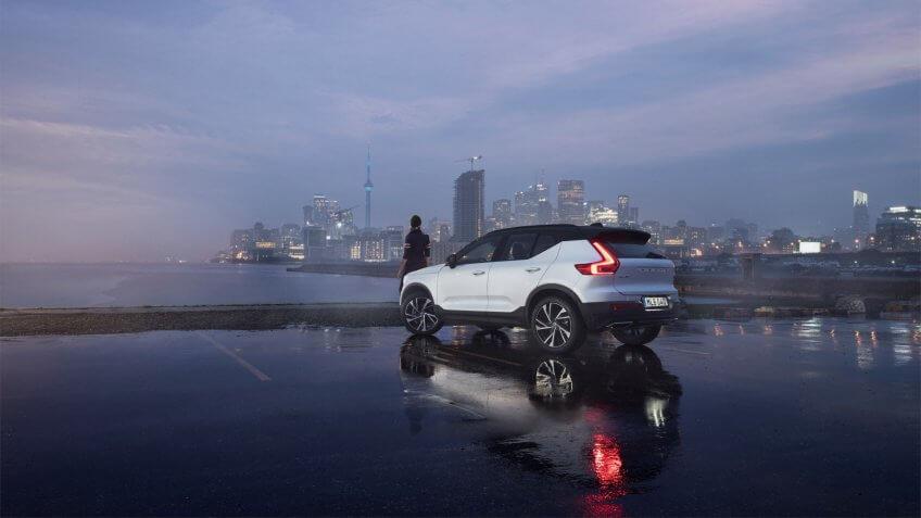 New Volvo XC40 - exterior.