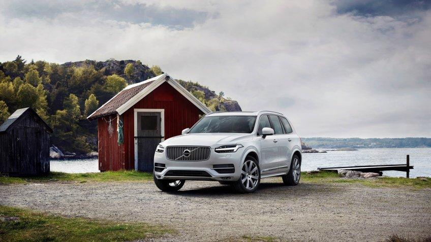 Volvo XC90 - model year 2019.