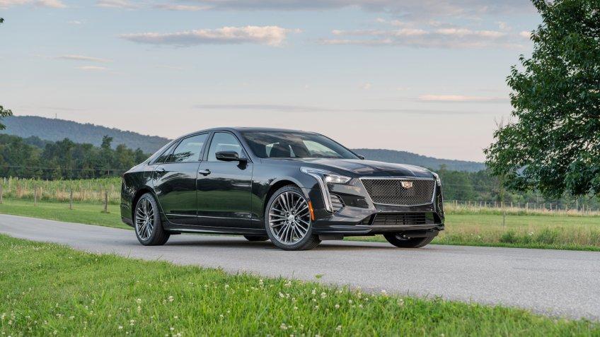 2019 Cadillac CT6-V.