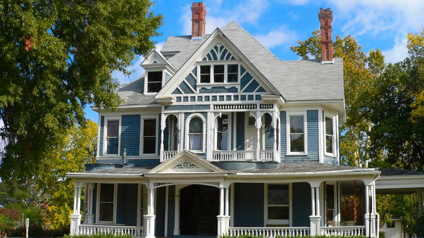 Historic House, Shreveport Louisiana - Image.