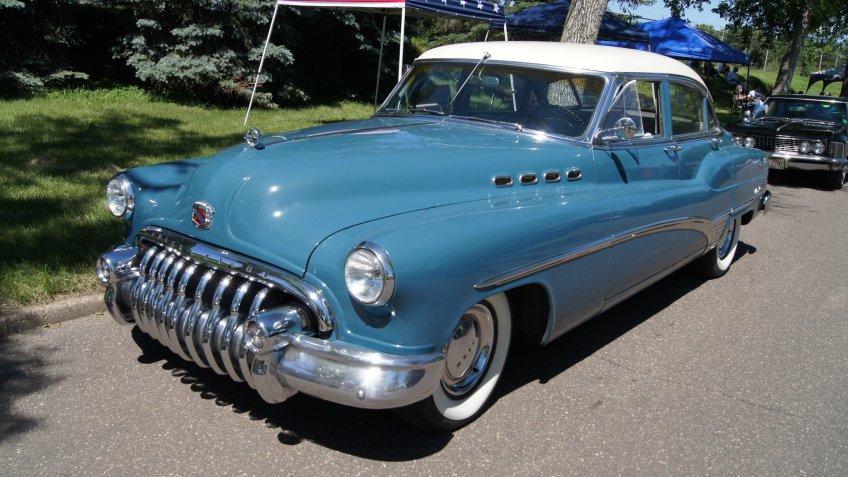 1950 Buick Roadmaster.