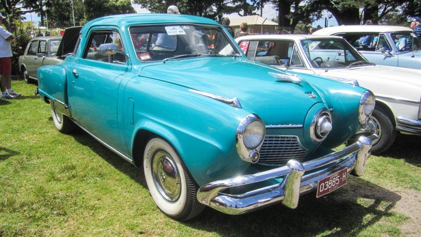 1951 Studebaker Champion Starlight Coupe.