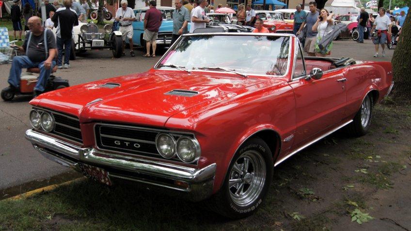 1964 Pontiac GTO.