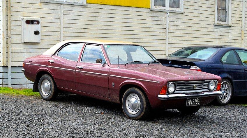 1975 Ford Cortina MK III.