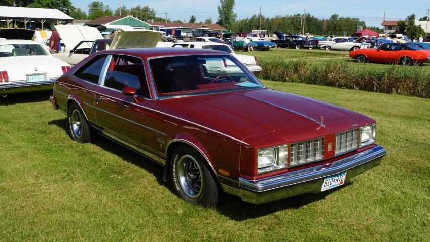 1978 Oldsmobile Cutlass Salon.