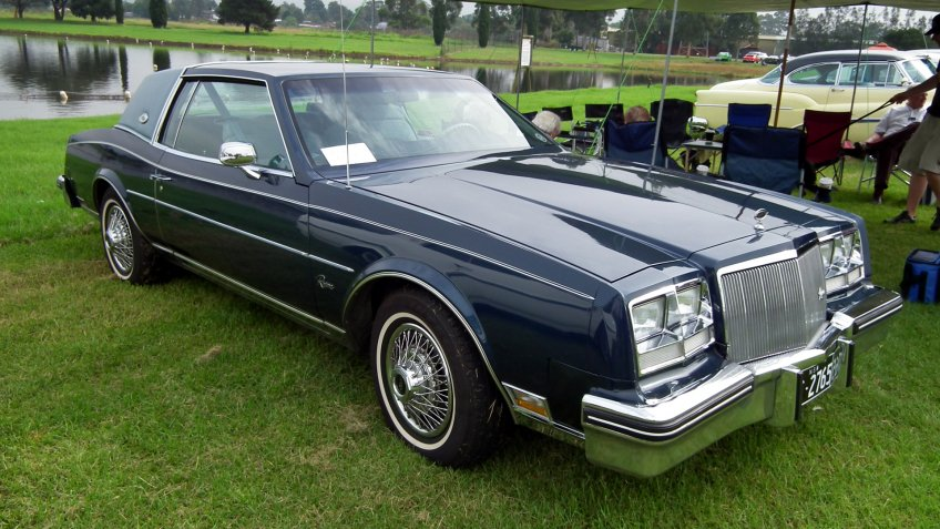 1979 Buick Riviera coupe.