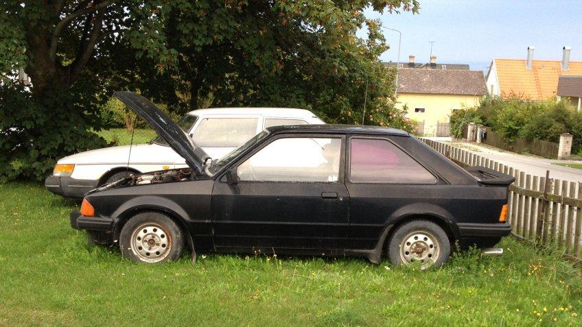 1985 Ford Escort XR3I MKIII.