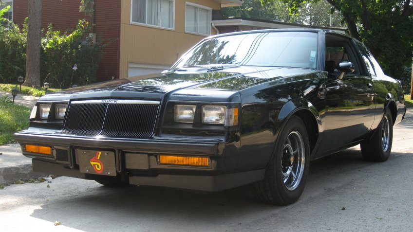 1986 Buick Grand National.