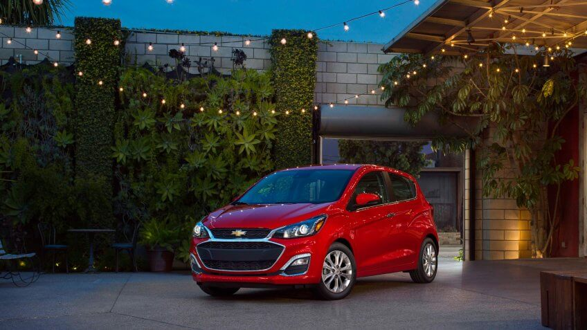 An updated face and new available active safety technology for the 2019 Spark add attitude and purpose to Chevrolet's feisty, segment sales-leading mini-car.