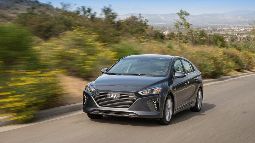 2019 Hyundai Ioniq Hybrid.