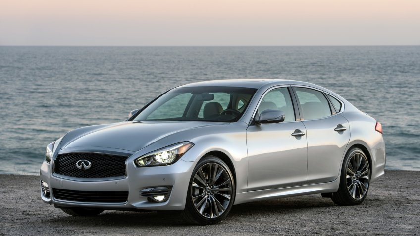 For 2019, all Q70 3.
