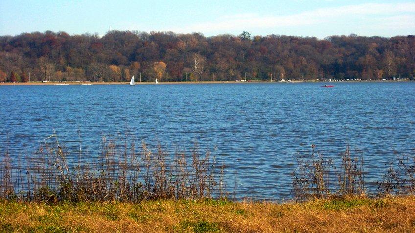 Creve Coeur Lake in Maryland Heights Missouri.