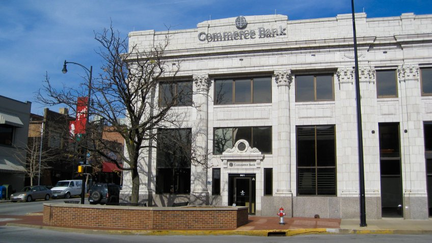 Commerce Bank in Missouri.