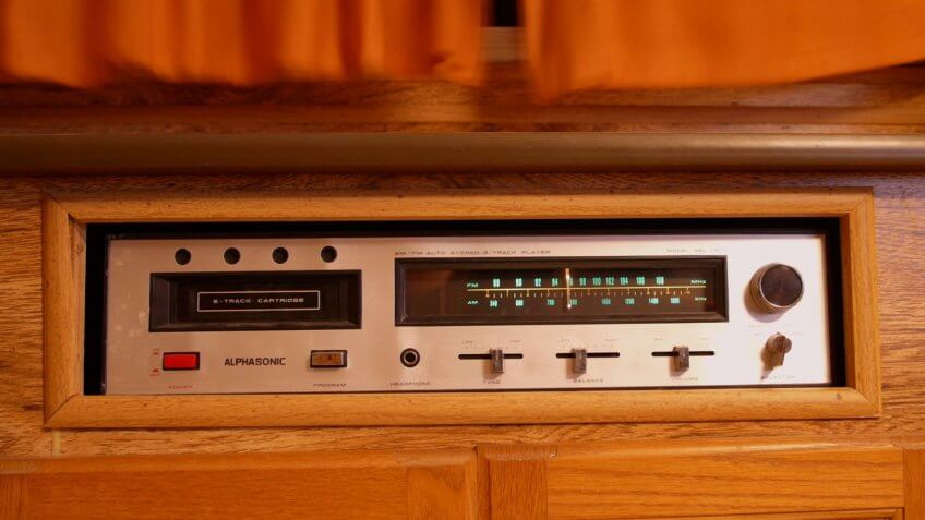 Stereo 8 Track player