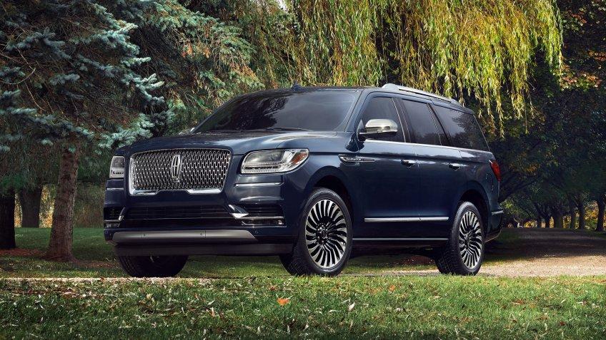 2019 Lincoln Navigator Black Label.
