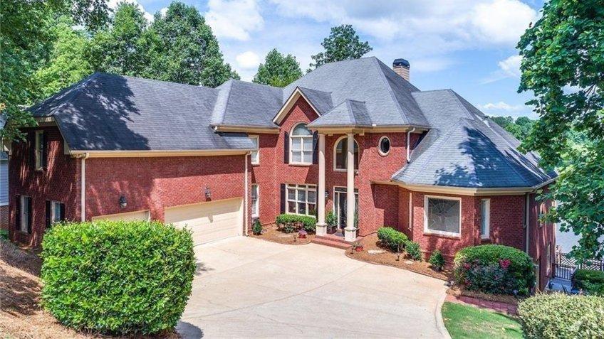Lawrenceville Georgia mansion.