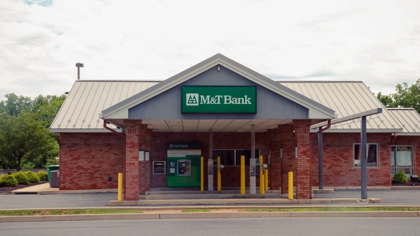 Allentown,Pennsylvania - July 23, 2017: M&T Bank - Image.