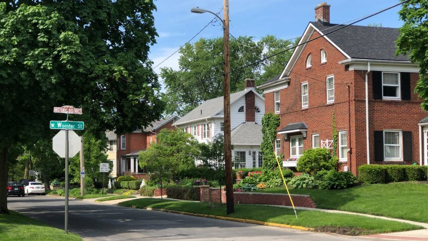 Boomtown Historic District, Bowling Green, Ohio.
