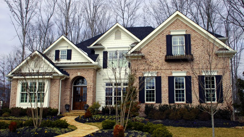 Beautiful Tennessee brick home in the Knoxville area.