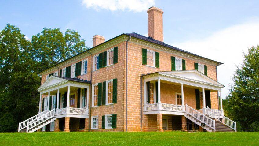 Prestwould historic home - Image.