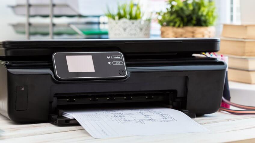 Printer, copier, scanner.