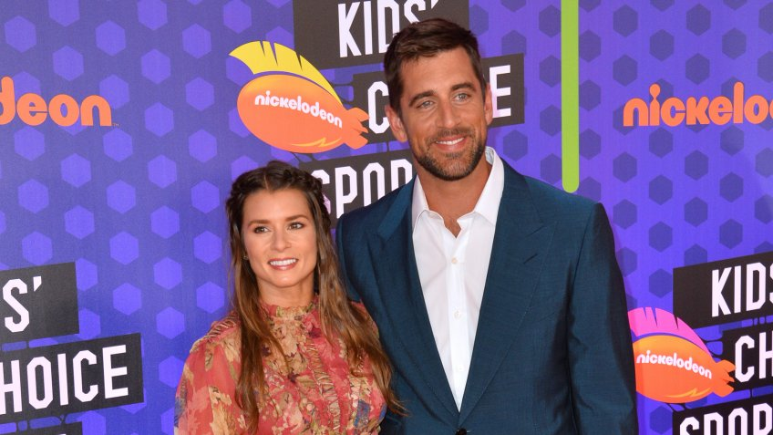 Aaron Rodgers and Danica Patrick sports couple