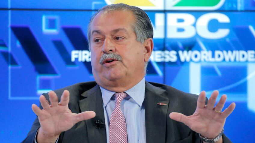 Andrew Liveris Dow Chemical CEO