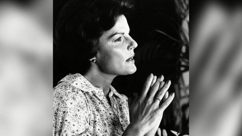 Anita Bryant with Florida Citrus Commission