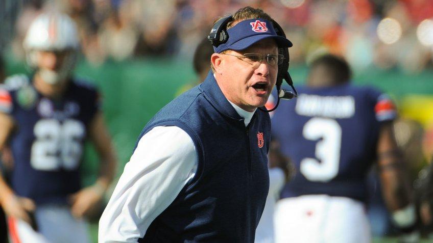 Auburn Tigers coach Gus Malzahn