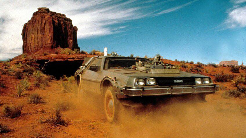 Back to the Future III DeLorean Car