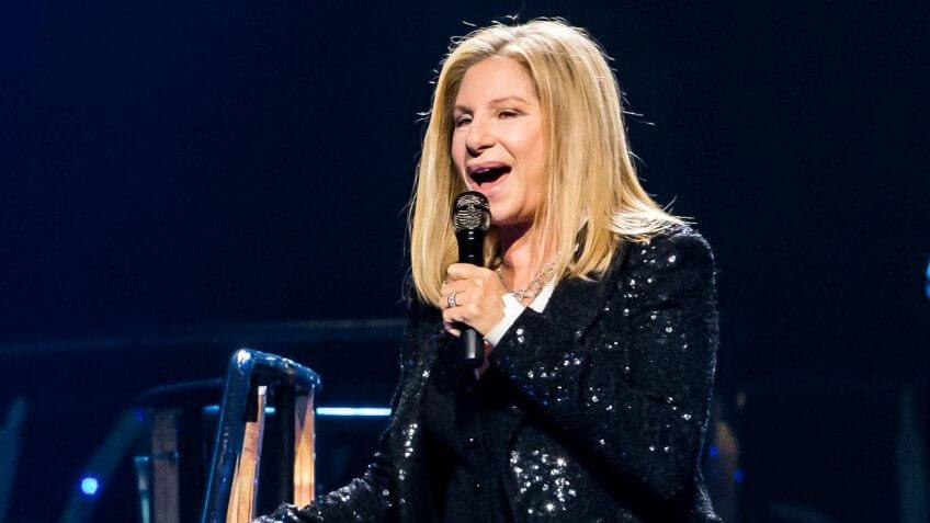 Barbara Streisand musician performing net worth