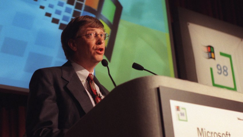 Bill Gates Microsoft Chairman