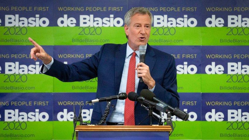 Bill de Blasio 2020 Presidential Candidate net worth