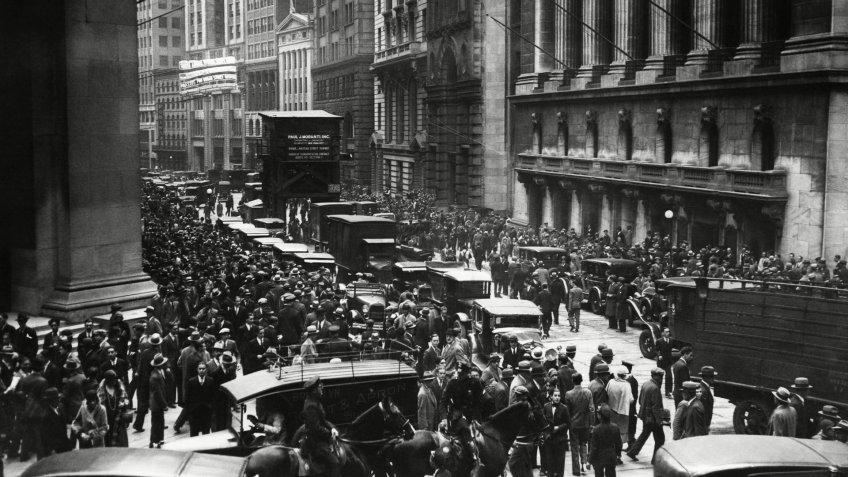 Black Thursday in Great Depression