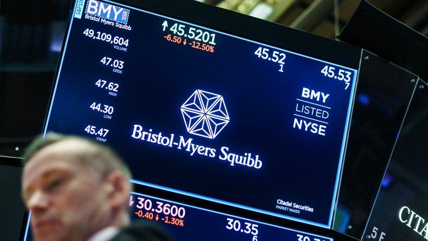 Bristol-Myers Squibb stock trading