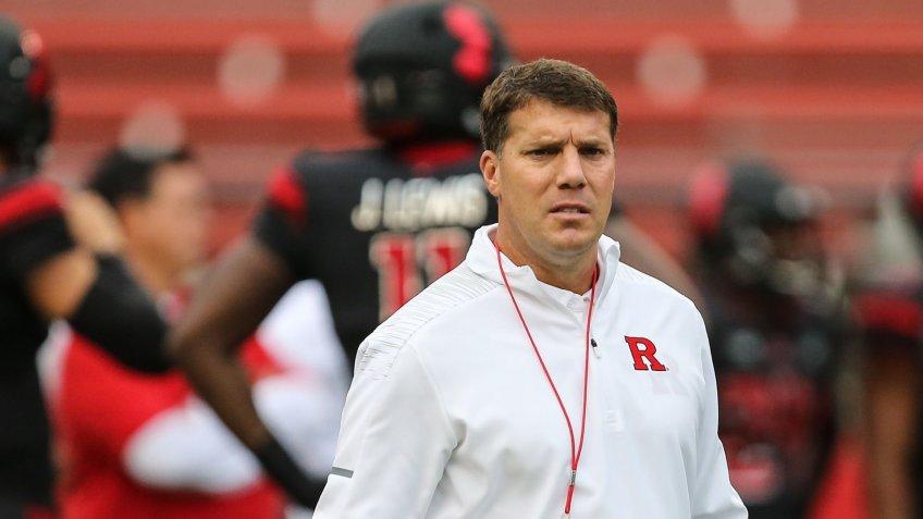 Chris Ash, football coach, Rutgers University