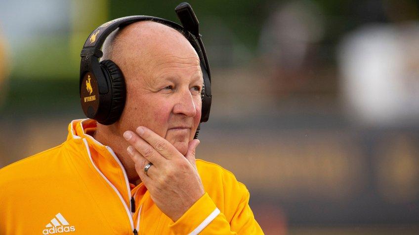 Craig Bohl, football coach, University of Wyoming