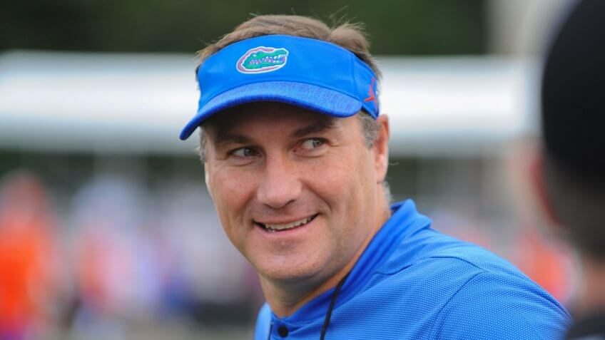 Dan Mullen, football coach, University of Florida