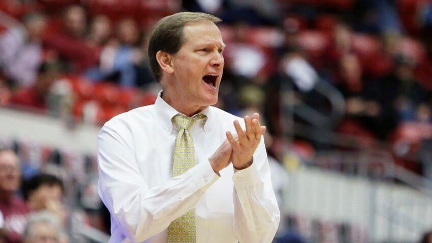 Dana Altman, basketball coach, University of Oregon
