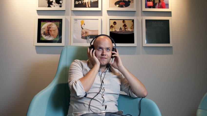 Daniel Ek Spotify co-founder