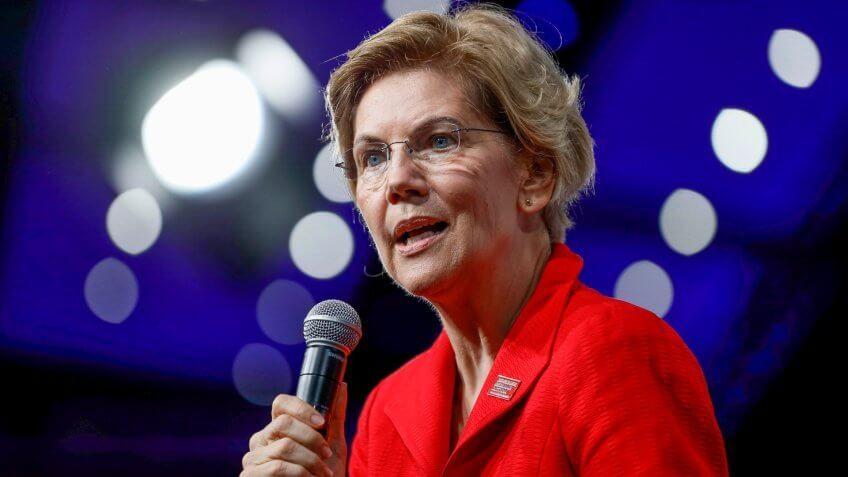 Elizabeth Warren Democratic Presidential candidate