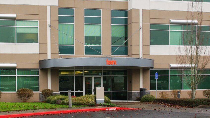 Fiserv offices in Hillsboro, Oregon