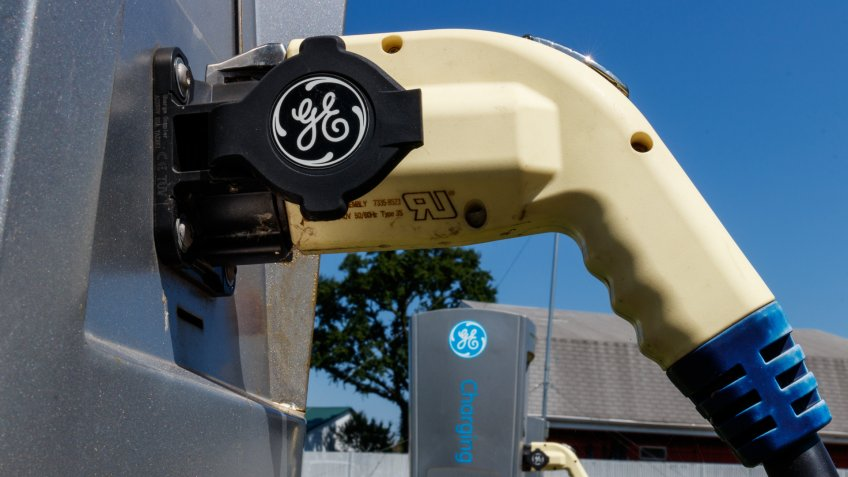 General Electric car charger