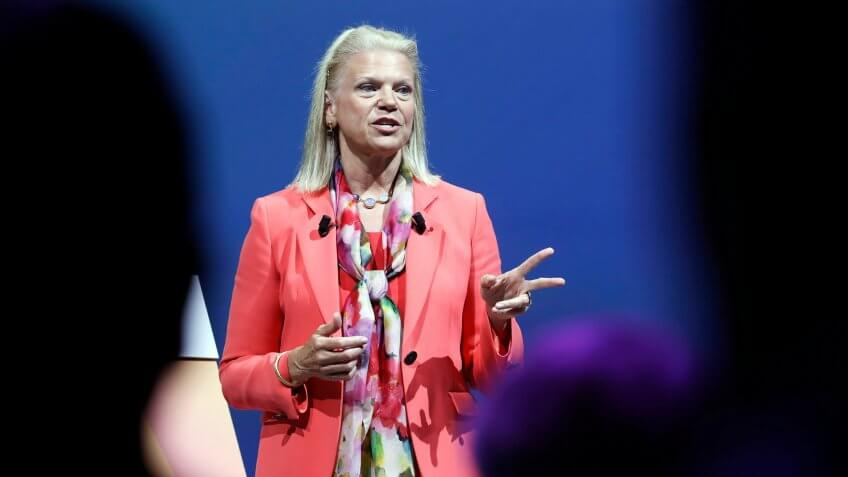 Ginni Romnetty IBM CEO