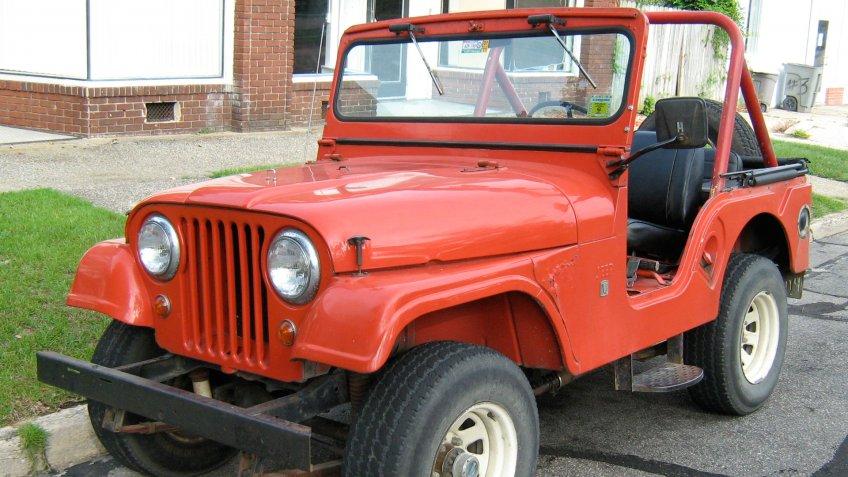 Jeep CJ-5.